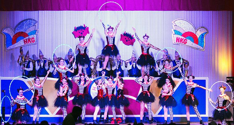 Das Ballett der Harxheimer Karnevalgesellschaft